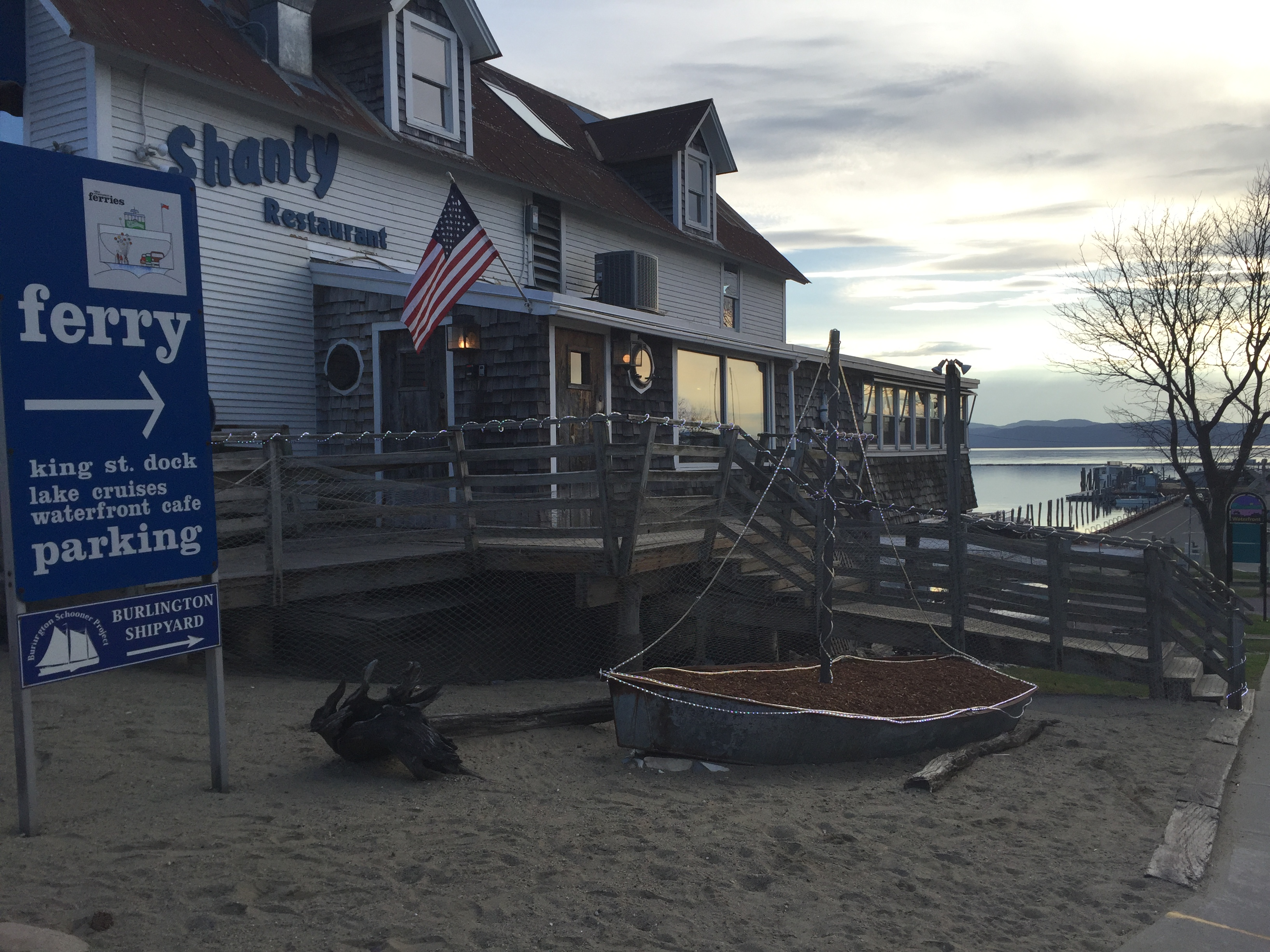 Shanty on the Shore-Burlington, Vermont