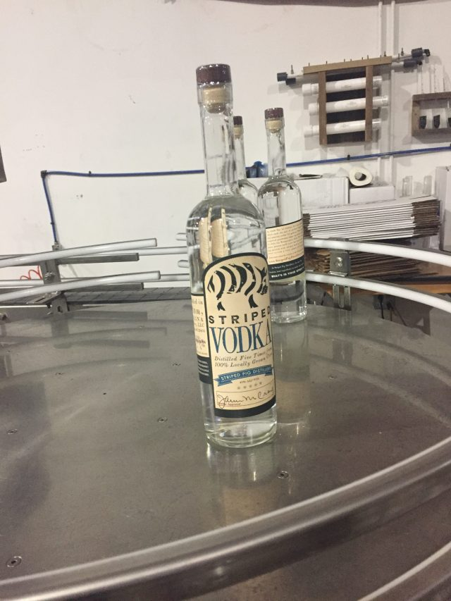 Striped Pig Vodka