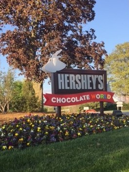 Hershey, PA and Hershey's Chocolate