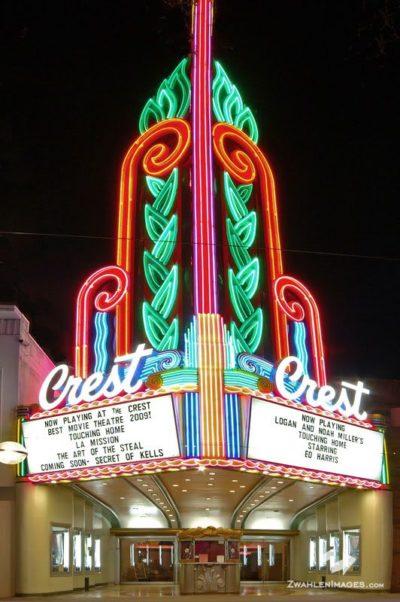 Crest Theater in Sacramento, California