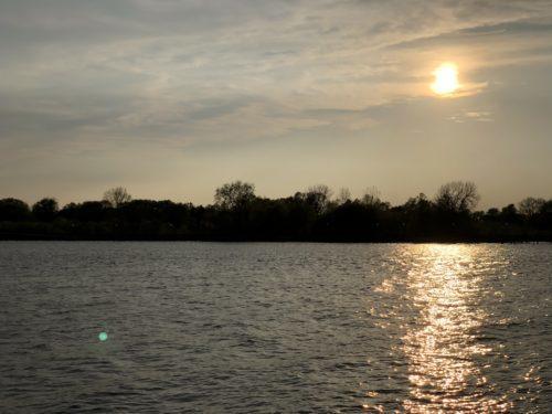 Bay City, Michigan lake