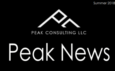 Peak 2018 Newsletter
